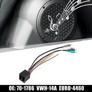 70-1786 Car Stereo Cd Player Wiring Harness Wire Radio Adapter For Audi A6 00-03