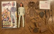 Marx Johnny West Fort Apache Fighters Vintage Geronimo Complete With Box