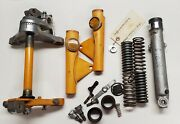 Honda Ct90 Ct 90 Trail 90 Front Forks Suspension Steering Triple Clamp Parts Lot