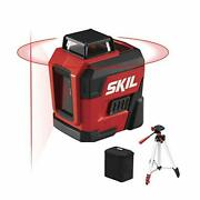 65ft.red Self-leveling Cross Line Laser Level With Horizontal And Vertical Lines