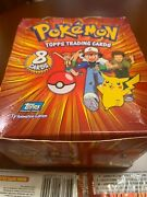 Collectible Cards 36 Packets Full Box 1999 Pokemon Tv Animation Nintendo Topps