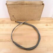 Rear Brake Cable 1937-1938 Ford Cars 73 74 77 78 Emergency Parking 78-2498a