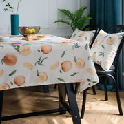 Waterproof Tablecloth Rectangle For Kitchen Dining Table Cloth Covers Home Decor