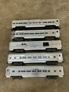 Williams O Gauge New York Central Passenger Cars Set Pre-owned No Boxes