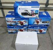 Lot Of 5 Empty Box Only Sony Playstation Vr Psvr Iron Man Ps4 Replacement Box