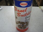 Vintage Tinkertoy Set No. 600 Panel Builder By Spalding Lots Of Parts