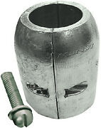 Martyr Anodes Aluminum Clamp Shaft Anode W/ Slotted Screw 40mm Id