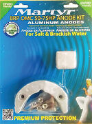 Martyr Anodes Martyr Brp Omc Johnson/evinrude 50-75 Hp Anode Kit Magnesium