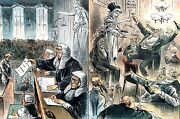English Courts 1885 Trial Law Lawyers Crime Punishment Double Standard Justice