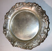 Lot Set Of 12 Vintage Gorham Chantilly 738 Sterling Silver Bread Plates No Mono