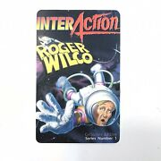 Space Quest Iv Roger Wilco And The Time Rippers Sierra Game Hint Phone Call Card