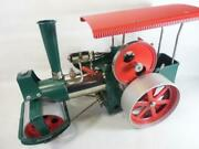 Vintage Wilesco Old Smoky Road Roller D36 Steam Engine Antique Retro Toy