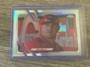 2021 Topps Chrome Mike Trout Sp Image Variation Silver Refractor La Angels 27