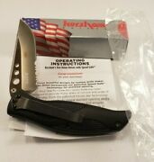 Kershaw Whirlwind 1560st Partially Serrated Folding Pocket Knife New Usa