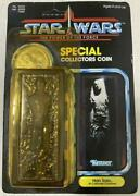 Star Wars Power Of The Force Han Solo Carbonite Chamber Figure W/ Coin Kenner