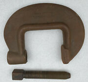 Vintage Armstrong No. 3 Heavy Duty C-clamp Drop Forged Chicago Usa