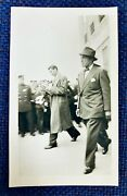 Spectacular Joe Dimaggio 1942 Opening Day Snapshot Dated Type 1 Photo W/details
