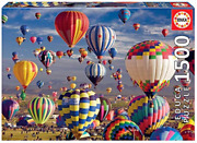 Educa - Puzzle 1500 - Hot Air Ballons 017977 Uk Import Toy New