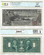 1896 1 Silver Certificate Educational Series Fr 225 Pcgs Very Fine-25