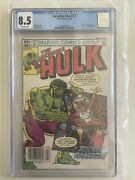 The Incredible Hulk 271 Cgc 8.5 1st Appearance Of Rocket Raccoon Rare Newsstand