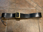 Civil War Cavalry Carbine Sling Swiveland Belt Marked O.b. North And Co New Haven Ct