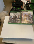 Xbox One X 1tb Robot White Special Edition Console W/ Games And Accessories Used