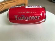 Coca Cola Collector Factory Error Empty Sealed Can Share A Coke With A Tailgater