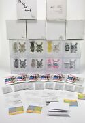 Kidrobot For Swatch - Vinyl Dunny/watch Sets Collectible Complete Set Of 8