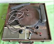 General Electric Record Cutter Lathe Voice Microphone Recorder Vinyl-as Is-l@@k