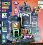 2021 Lemax Spooky Town The Horrid Haunted Hotel New In Hand Halloween Village 🎃