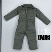 1/12 Scale Soldier Work Clothes Coveralls Model For 6 3a Dam Ant Body Figure