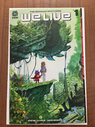 We Live 1 First 1st Print Aftershock Comic Triple Gatefold Sold Out Fn+