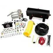 25572 Air Lift Kit Suspension Compressor New For Chevy Express Van Suburban