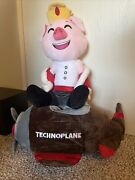 Technoplane Plush Pig 2ft Rare Youtooz On Hand Limited And Sold Out Ships Asap