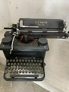 Antique Typewriter L C Smith And Corona Super Speed Silent 12 Wide Carriage 1938