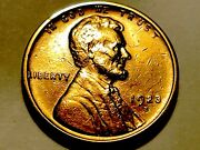 1923-s Lincoln Cent Penny Nice Bu 1