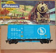 Athearn 1953 40 Ft Hi Cube Box Car Great Northern Gn 53305 Blue Built