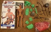 Marx Johnny West Adventure Jwa Fighting Eagle With Accessories And Box