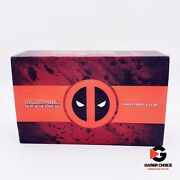 Marvel Deadpool Merc With A Mouth Loot Crate Collectible Gear Socks Lanyard