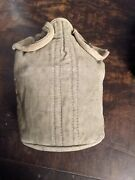 M1910 Canteen With M1910 Cover And Cup Ww2 British Made Airborne