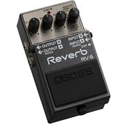 Brand New Boss Rv-6 Reverb Guitar Effects Pedal New In Box Fast Shipping Japan