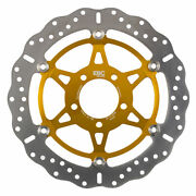 Ebc Md3058xc Motorbike Motorcycle Front Left Brake Disc Gold / Silver - 320mm