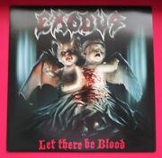 Exodus Let There Be Blood Rare 2008 Hand Numbered Blood Red Vinyl Lp Record