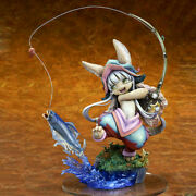 Unpainted Made In Abyss Nanachi Fishing Unassembled Resin Garage Kit Model Toy