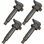 Set-delgn10314 Delphi Ignition Coils Set Of 4 New For Chevy Toyota Corolla Vibe