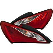321334 Anzo Set Of 2 Tail Lights Lamps Driver And Passenger Side New Lh Rh Pair