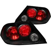 221086 Anzo Tail Lights Lamps Set Of 2 Driver And Passenger Side New Lh Rh Pair