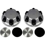 Set-rb909030-2 Dorman Wheel Center Caps Set Of 2 New For Chevy Avalanche Pair