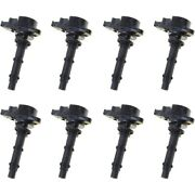 Set-wkp9212103-8 Walker Products Set Of 8 Ignition Coils New For Mercedes C230