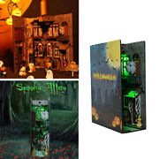 3d Halloween Dollhouse With Gree Light Kit Tricks Haunted House Puzzles Kit